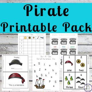 Pirate Printable Pack