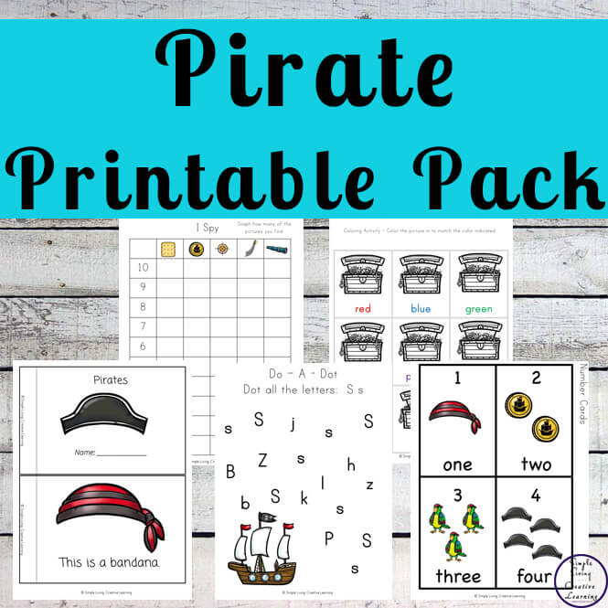 Pirate Printable Pack
