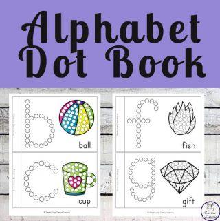 Alphabet Dot Books
