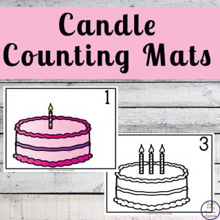 Candle Counting Mats