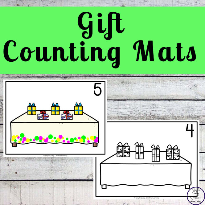 Gift Counting Mats