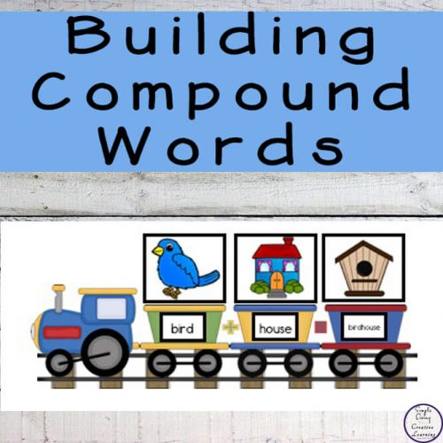 Learning and reviewing compound words is going to be great fun with this Train building compound words printable pack.