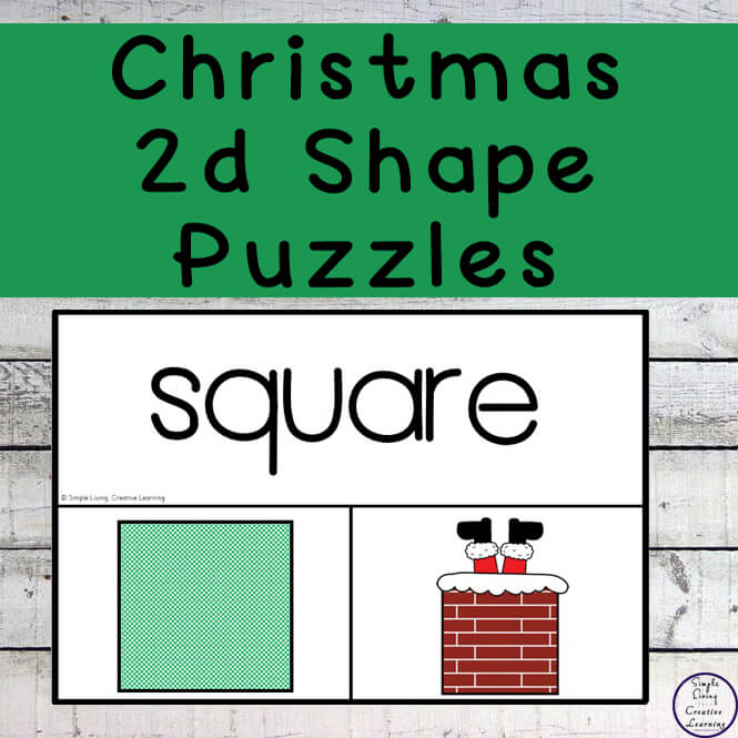 Enjoy learning and working on shape recognition this Christmas with these exciting new Christmas 2d Shape Puzzles.