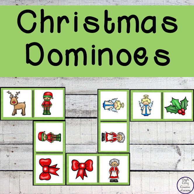 Enjoy a game of Christmas Dominoes this festive season. It is a great game which all the family, homeschoolers or classrooms can join in and play together.