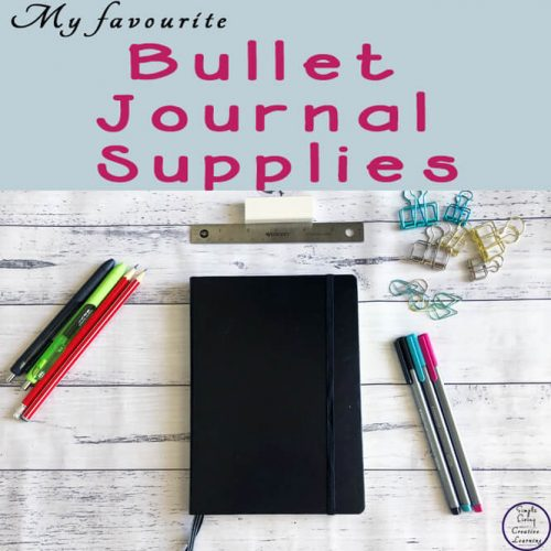 When starting out with a bullet journal, there are a few supplies that you need to create brilliant layouts. Here is a list of my favourite bullet journal supplies.