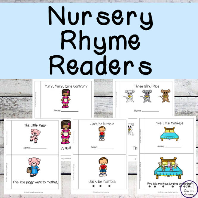 Nursery Rhyme Easy Read Books