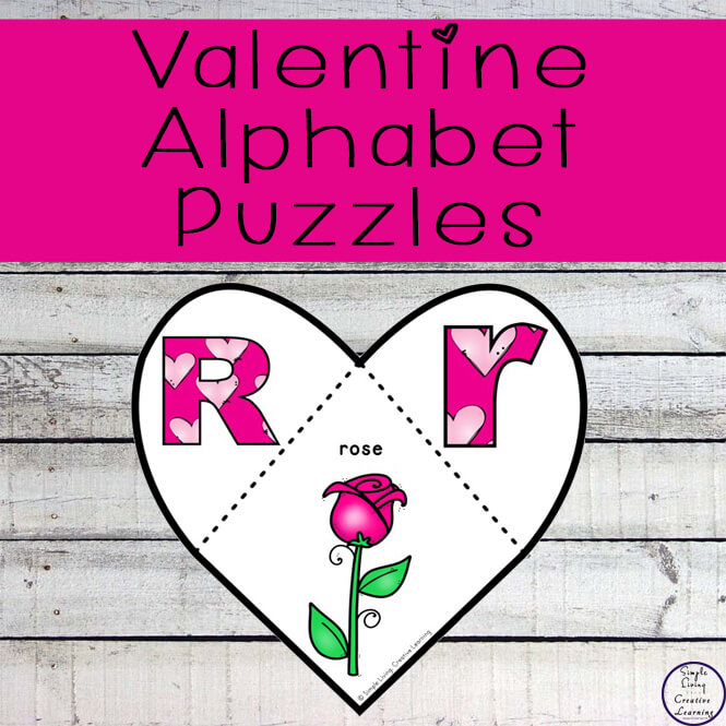 These gorgeous Valentine Alphabet puzzles are fun and a great way to work on phonics while talking about different ways we can show love and kindness this Valentine's Day.
