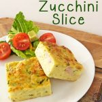 This Zucchini Slice is a delicious, easy meal that can be quickly whipped up for dinner, and then the extra frozen for lunches or snacks during the week.
