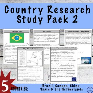 Country Research Study Pack {2}