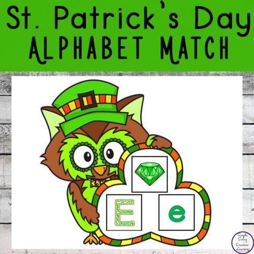 Have fun this St. Patrick's Day with this exciting new St. Patrick's Day Alphabet Match game.
