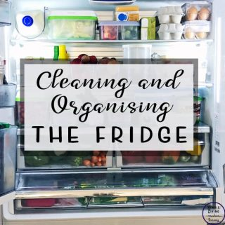 Looking for some ways to help you keep your fridge clean, fresh smelling & organised fridge? These Cleaning and Organising the fridge tips are for you!