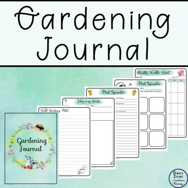 This gorgeous Gardening Journal is great for anyone who loves being outside, building and creating their own edible garden.