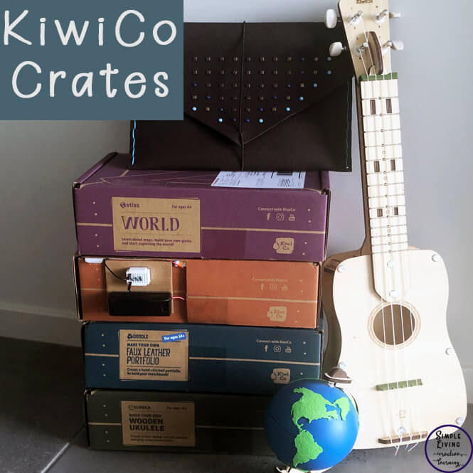 With a variety of boxes to suit all ages levels, these KiwiCo monthly subscription based boxes are high quality and contains the materials needed to complete the project.