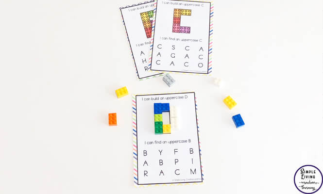 This Building Block Bundle is a great way to work on counting, learning the letters of the alphabet and for working on fine motor skills; an important skill for kids in preschool and kindergarten.