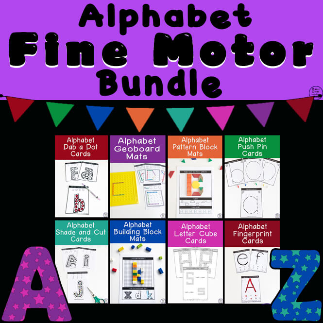 Fine Motor ~ Alphabet Themed Bundle