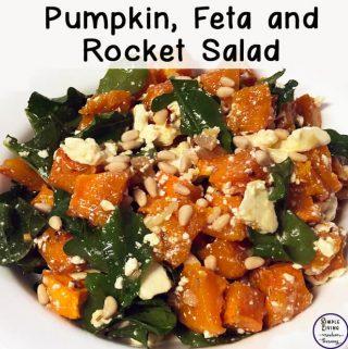 Pumpkin, Feta and Rocket Salad