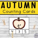Autumn / Fall Counting Cards