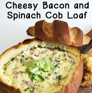 This Cheesy Bacon and Spinach Cob Loaf is a tasty dish that is easy to make, very adaptable to suit different tastes and sure to impress.