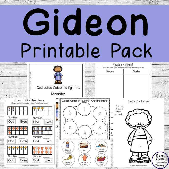 Gideon Printable Pack