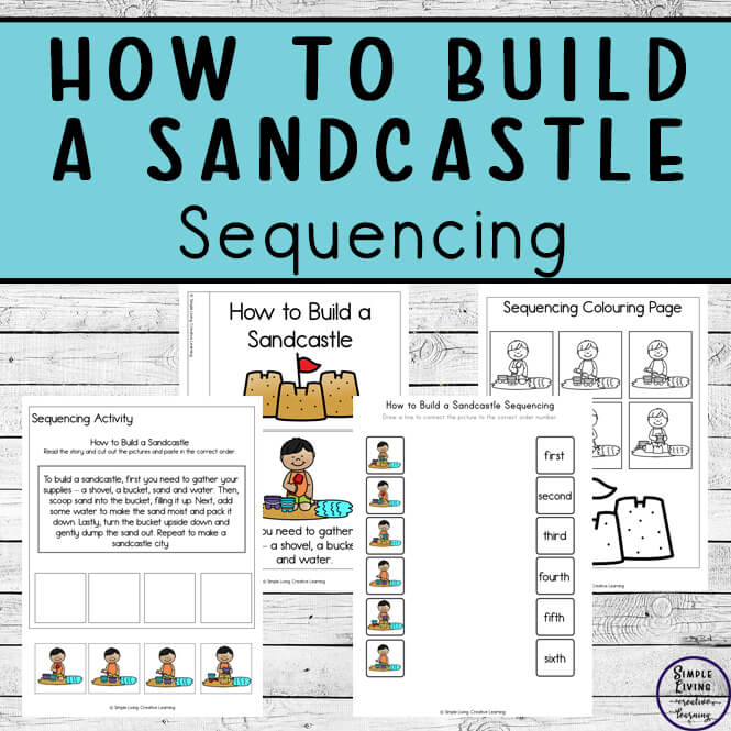 How to Build a Sandcastle Sequencing