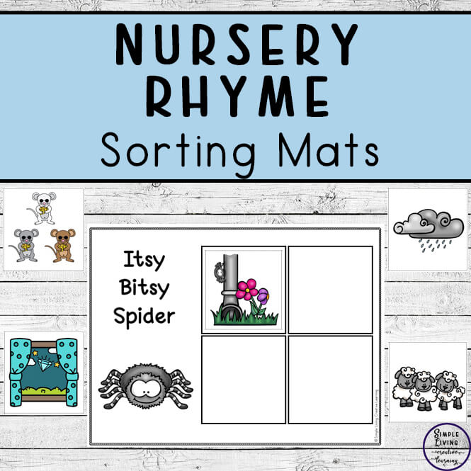 Nursery Rhyme sorting mats