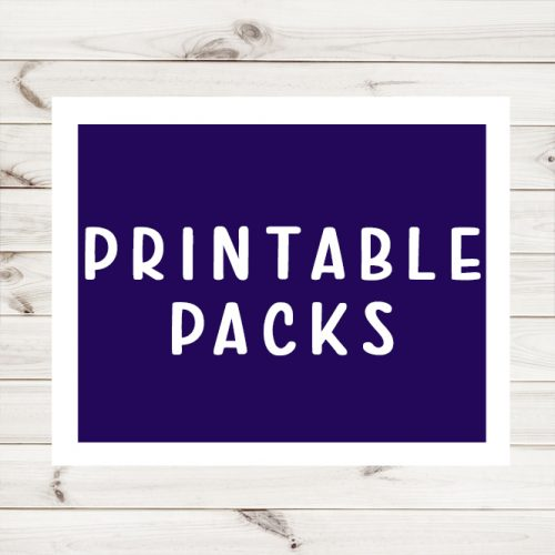 Printable Packs