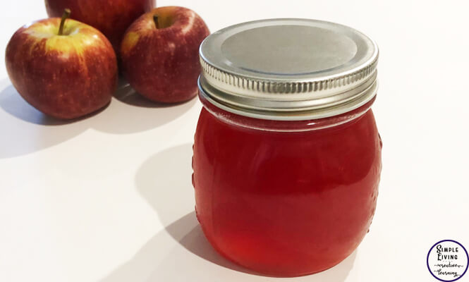 Instead of throwing away your apple scraps - peels and cores - why not use them to make this delicious and versatile Apple Scrap Jelly.