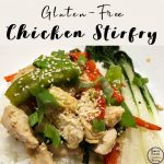 This gluten-free Chicken Stirfry is quick and easy to make from scratch and tastes delicious. It can be customised to use whatever vegetables you have available in your fridge.