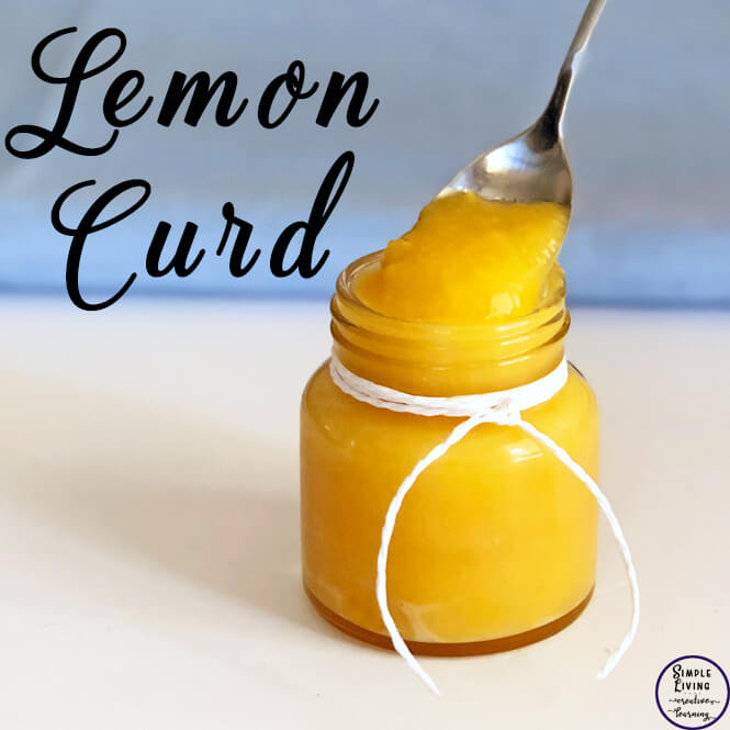 This delicious lemon curd can be used in a variety of ways; in-between layers of a sponge cake, dolloped over muffins or poured into a tart shell.