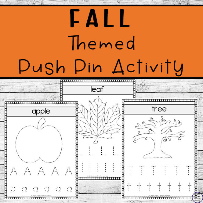 Fall Push Pin