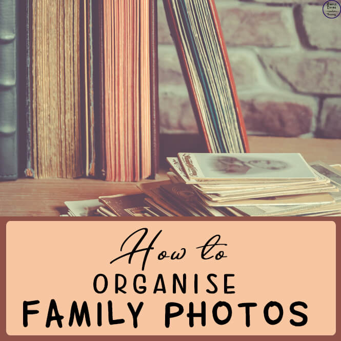 Organise photos and albums