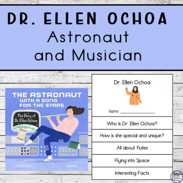 Dr. Ellen Ochoa Printables