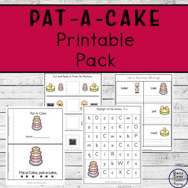 Pat-a-Cake printables