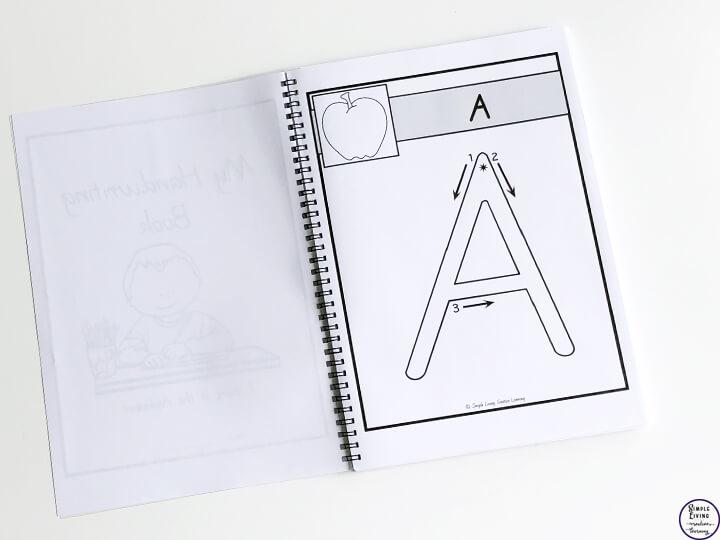 My Handwriting Book ~ Alphabet