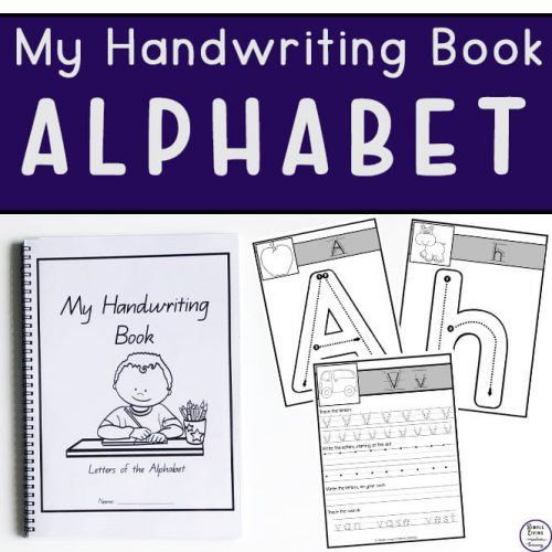 My Handwriting Book ~ Alphabet