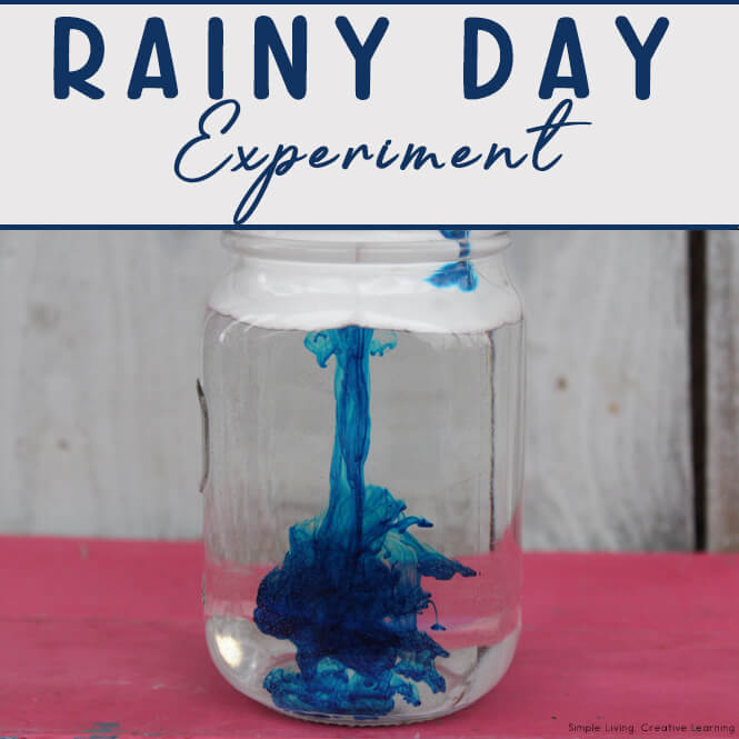 Rainy Day Experiment