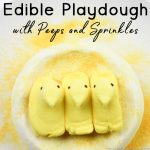 Edible Playdough with Peeps and Sprinkles