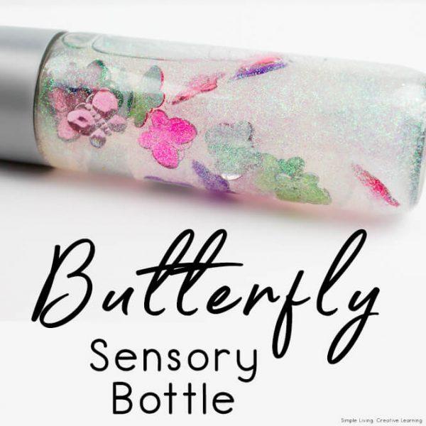 Butterfly Sensory Bottle