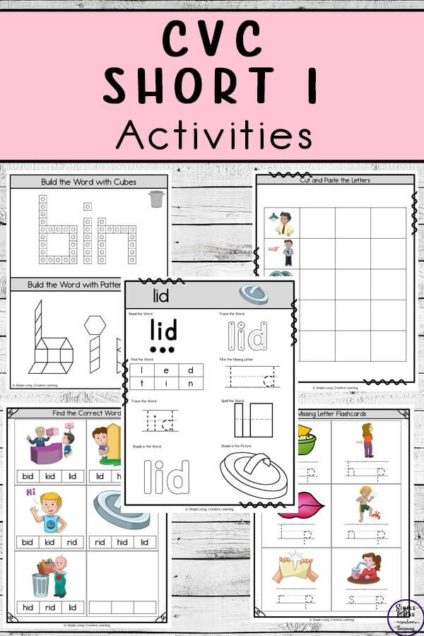 CVC ~ Short I Activities
