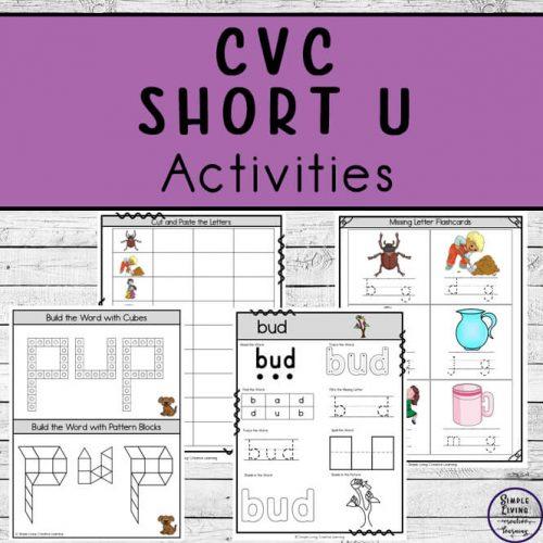 CVC ~ Short U Activities
