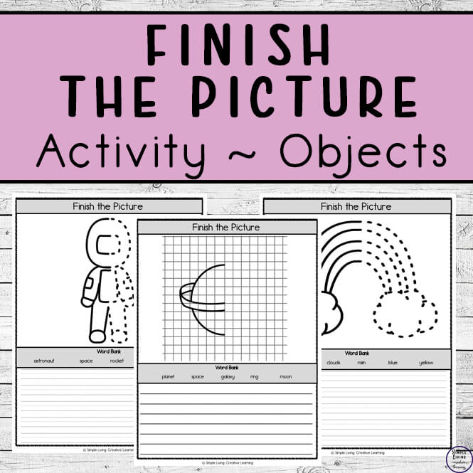 Finish the Pictures ~ Objects