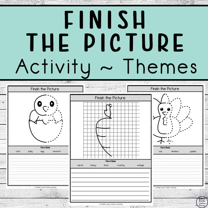 Finish the Picture ~ Themes