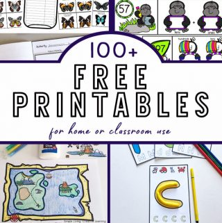 100+ FREE Educational Printables for Home or Classroom Use