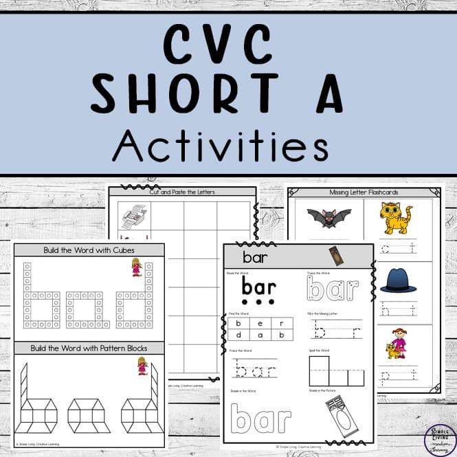 CVC ~ Short A Activities