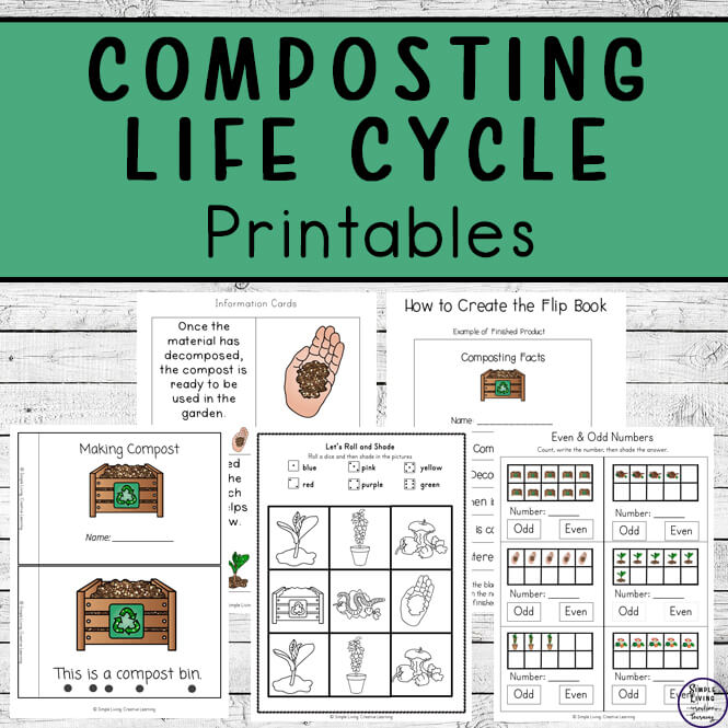 Composting Life Cycle Printables
