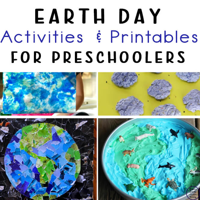 Fun Preschool Earth Day Activities and Printables