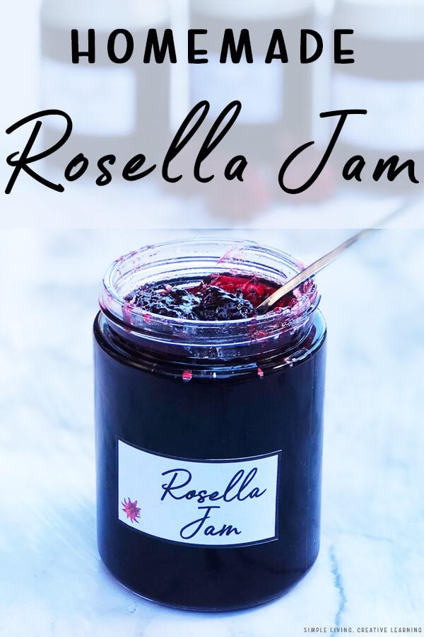 Homemade Rosella Jam
