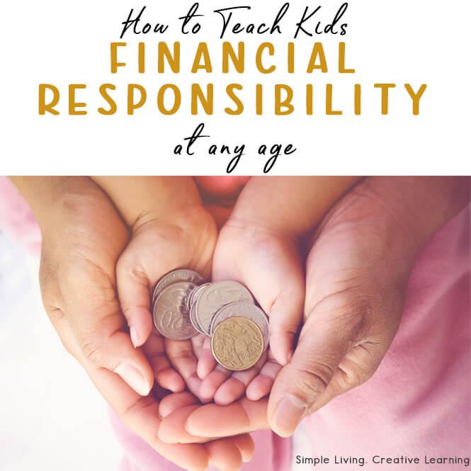Teach Kids Financial Responsibility