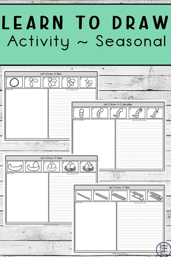 Learn to Draw Activity ~ Seasonal