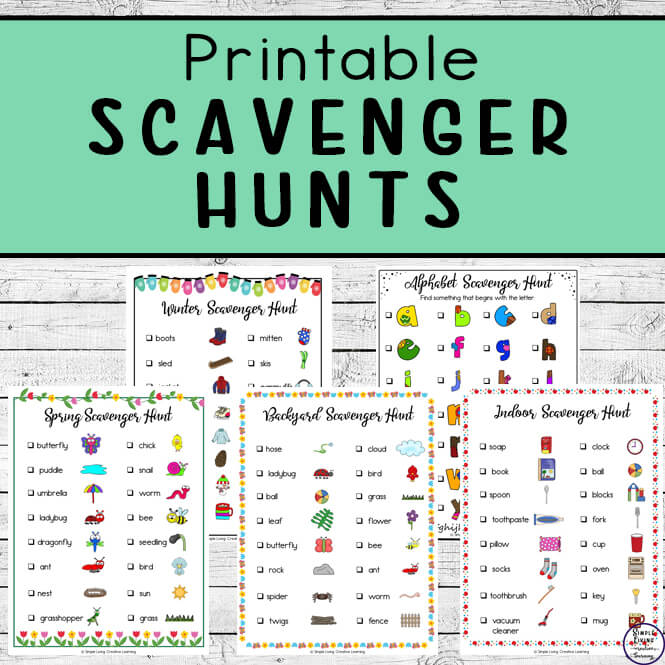Printable Scavenger Hunts